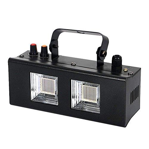 Strobe Light,LaluceNatz 40W COB LEDs Strobe with Sound Activated Professional dj lights for Disco Club KTV Bar party(Metal Case)Strobe Light, LaluceNatz Sound Activated Strobe Lights for Parties Profe