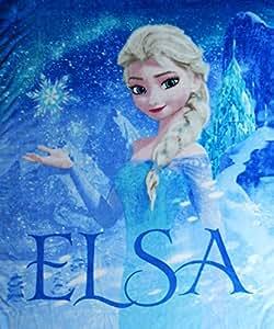 Amazon Com Disney S Frozen Silk Touch Elsa Palace Throw