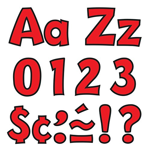 """Ready Letters Playful Combo Set, Red, 4""""h - Trend T79742"""