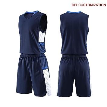 Baloncesto Camiseta De Uniforme Deportiva De Basket Jersey para Adulto Camisa De Baloncesto: Amazon.es: Deportes y aire libre