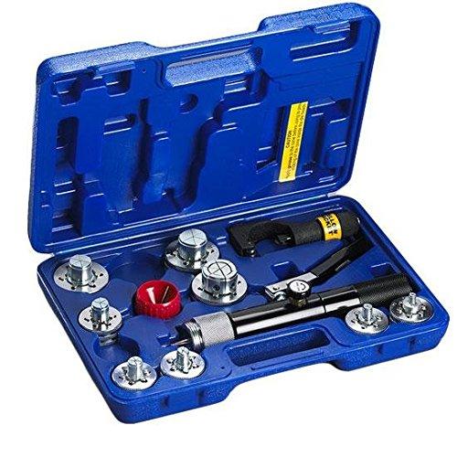 Yellow Jacket 60493 Hydraulic Tube Expander Kit, 3/8 To 1-5/8''