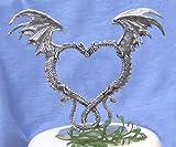 Dragon Heart Cake Topper
