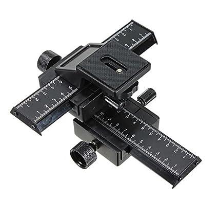 Mcoplus - Deslizador de raíl para enfoque para cámaras réflex ...