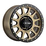 "Method Race Wheels 305 NV Method Bronze/Black Street Loc 17x8.5"" 8x6.5"", 0mm offset 4.75"" Backspace, MR30578580900"