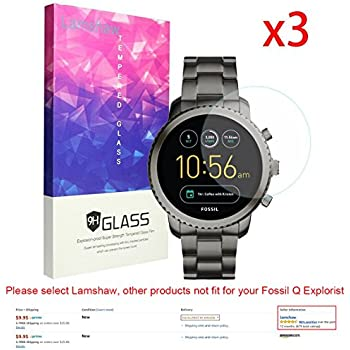 Amazon.com: for Fossil Q Venture Screen Protector, Lamshaw ...