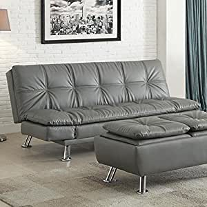 Coaster 500096 Home Furnishings Sofa Bed, Grey
