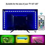 LED TV Backlight, LUCKIE RGB LED Strips 2M/6.56ft USB TV Bias Lighting