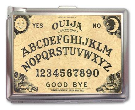 Ouija Board Cigarette Case Lighter or Wallet Business Card Holder