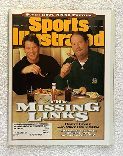 (Brett Favre & Mike Holmgren - Green Bay Packers - Super Bowl XXXI Preview - Sports Illustrated - January 27, 1997 - SI)