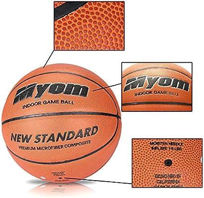 Myom Wilson Evolution - Balón de Baloncesto Japonesa de Microfibra ...