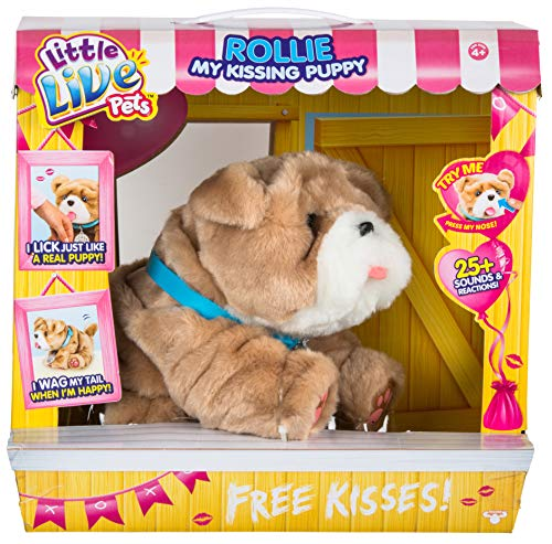 My Kissing Puppy Rollie is a popular toy for girls age 6 to 8