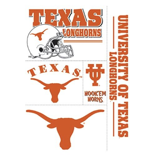 WinCraft NCAA University of Texas 02317012 Multi Use Decal, 11