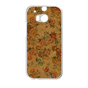 glam flowers personalized high quality cell phone case for HTC M8