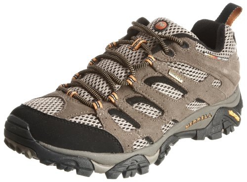merrell-moab-mens-gore-tex-hiking-shoes-10-dm-us-walnut