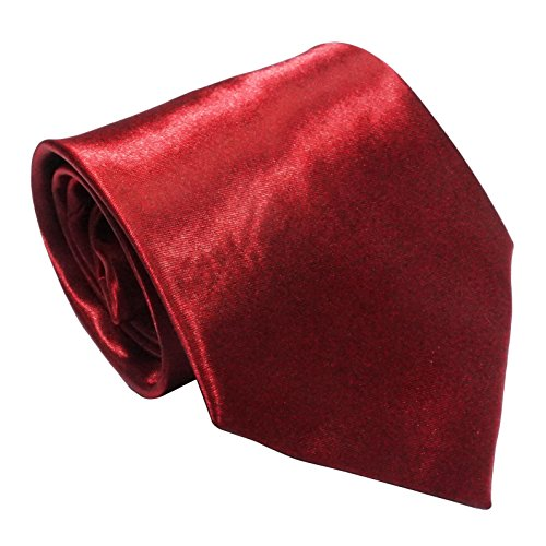 LilMents 6 Pack Mens Classic Plain Solid Color Formal Necktie Tie Set (Set A) by LilMents (Image #6)'