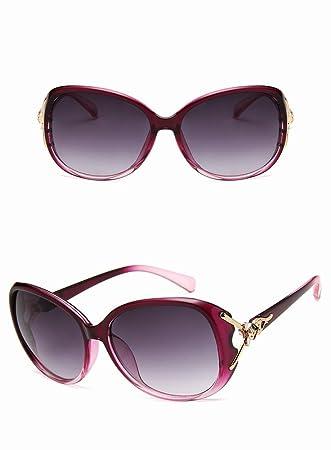 Gafas de Sol de Cabeza de Fox , Púrpura Asintótica: Amazon ...