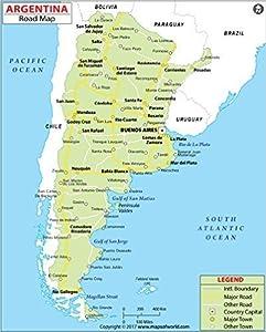 Amazoncom Argentina Highway Map W X H Office - Argentina highway map