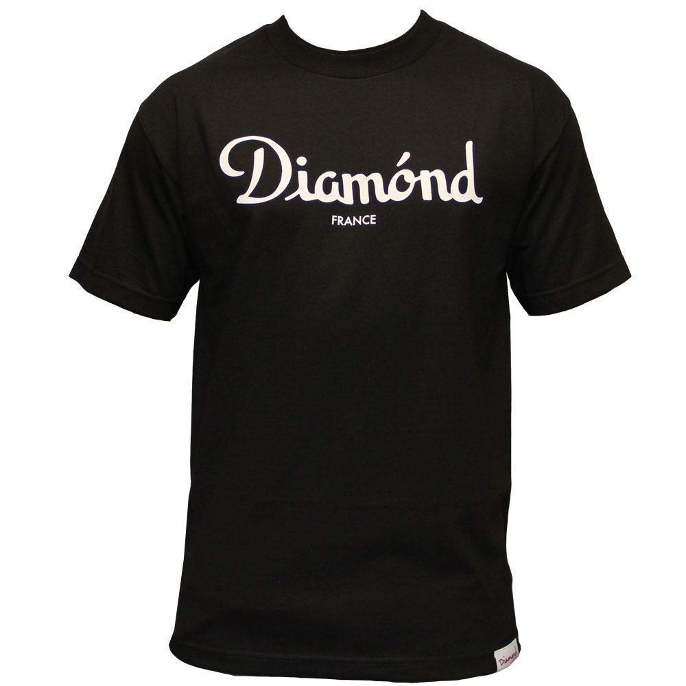 Diamond Supply Co Champagne T-Shirt Black