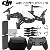 Ryze Tello Quadcopter Drone with HD camera and VR - powered by DJI technology and Intel Processor with GameSir T1d Bluetooth Gaming Controller Essential Travel Bundle