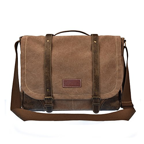 Brown Womens Messenger Bag (C-LEATHERS 15.6