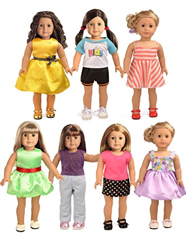 sweet dolly Christmas Gift Doll Clothes Fits 18 Inch America