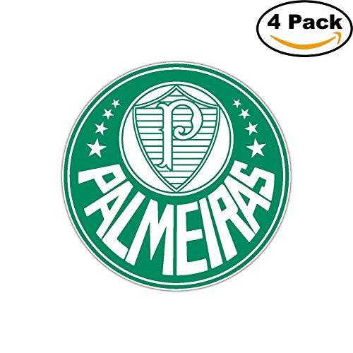fan products of Palmeiras FC Brazil Football Soccer Car Bumper Sticker Decal 4X4