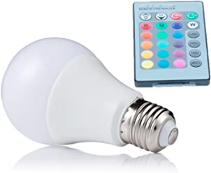 NEW 2018 E27 RGB LED Lamp 10W 15W 20W LED RGB Bulb Light 110V 220V Remote