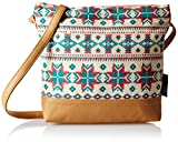Kanvas Katha Desi Sling Aztec Women's Sling Bag (Multi color) (KKSAMZAUG003)