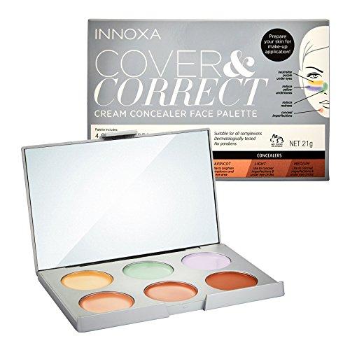 Innoxa Cover Correct Cream Concealer Face Palette by Innoxa
