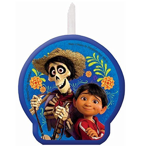 Disney - Pixar COCO Movie Candle Birthday Party Supplies Day of the Dead by Amscan