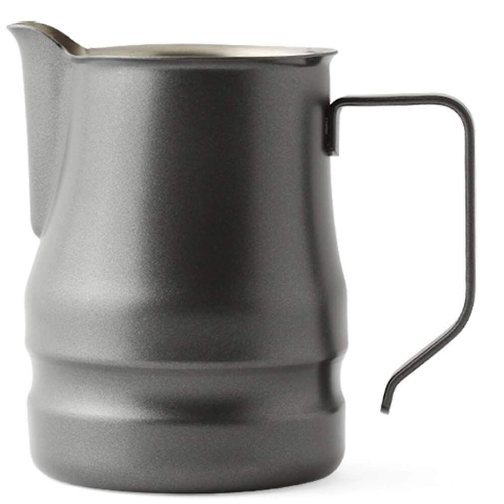 Ilsa Evolution Milk Frothing Pitcher Professional Latte Art Milk Steaming Jug Stainless Steel, Grey - 350ml / 12oz by Ilsa (Image #1)