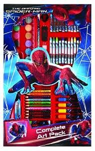 Anker SPCM - Set de dibujo y pintura con diseño de Spiderman