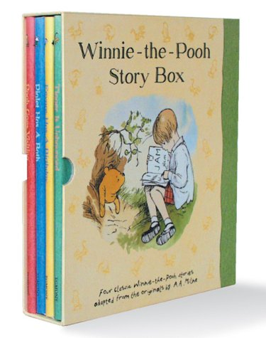 Winnie-The-Pooh Story Box 'Pooh Goes Visiting', 'Eeyore Has a Birthday', 'Tigger Is Unbounced', 'Piglet Has a Bath