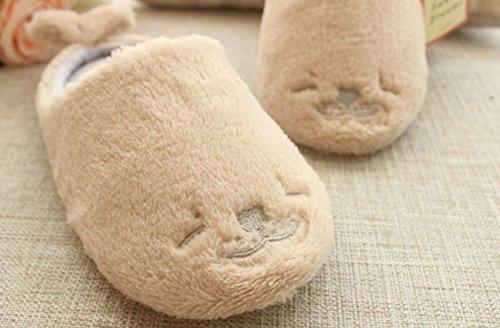 Tokyo-t Kvinners Animalske Tøfler Plysj Slip-on-polar Bærer Tetningen Fleece Ingen Sko Tetning