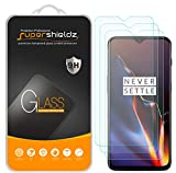 [3-Pack] Supershieldz for OnePlus 6T Tempered Glass Screen Protector, Anti-Scratch, Bubble Free, Lifetime Replacement
