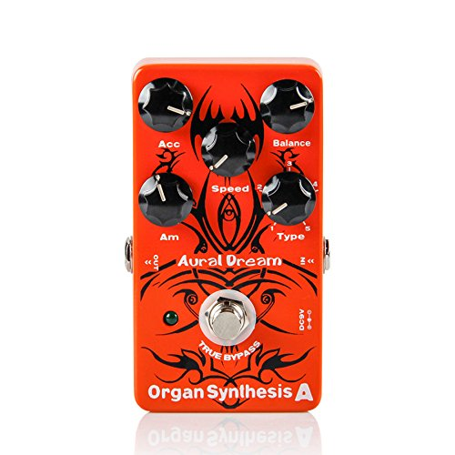 Aural Dream Organ Synthesis A Guitar Effects Pedal Simulate 5 kinds of Organ Sounds/Guitar Accessories by Aural Dream