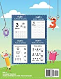 Pre K Number Tracing Math Workbook For