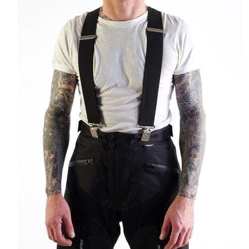 VIPER MOTO Accessories A107 Motorrad-Zubehör Schutzkleidung Hosen XLR8 Fester elastischer Hosenträger, Black, One