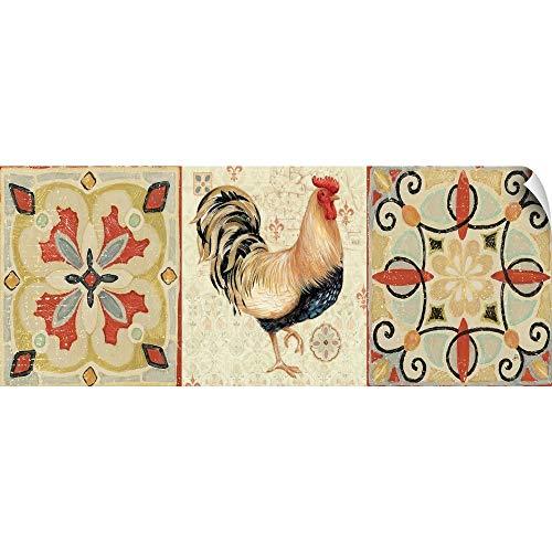 CANVAS ON DEMAND Bohemian Rooster Panel II Wall Peel Art Print, 36