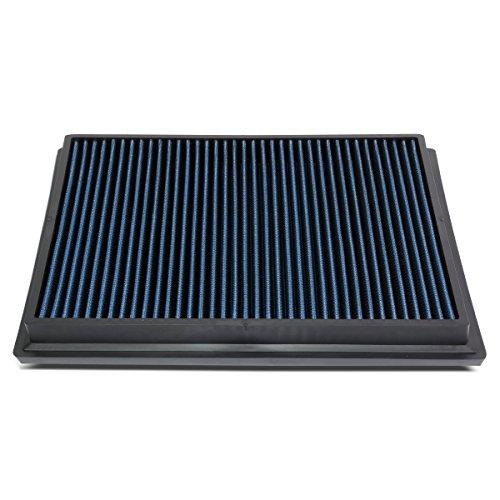 DNA Motoring AFPN-174-BL Blue Panel Air Filter [For 15-18 Toyota Hilux Revo/Fortuner]