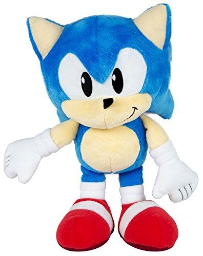 Amazon Com Classic Sonic The Hedgehog 10 Plush Toys Games