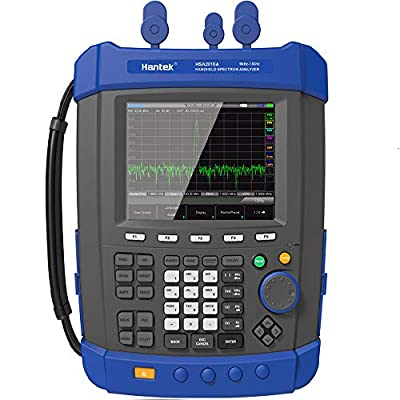 Hantek HSA2016A USB Interface Handheld Digital Spectrum Analyzer with Portable Field Strength Meter Spectrum Monitor