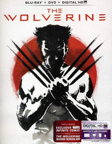 The Wolverine (Blu-ray + DVD + Digital HD with UltraViolet) (Xmen The Wolverine Blu Ray)