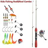 Kids Fishing Rod and Reel Combo Easy To Use All Accessories Included Ready To Go (1M Spinning) Review