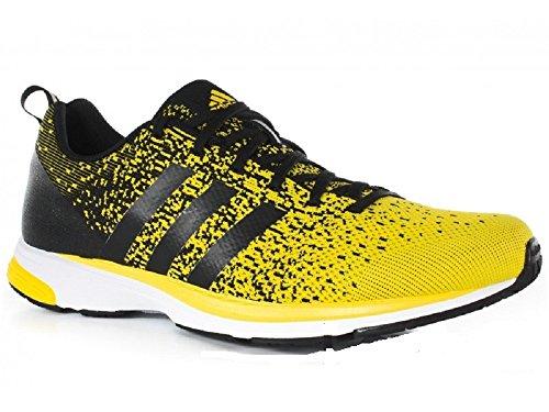 0 donna 2 Scarpe Adidas PRIMEKNIT Running Giallo ADIZERO da giallo wqwRa