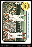 1973 Topps # 208 1972 World Series - Game #6 - Reds' Slugging Ties Series Johnny Bench / Denis Menke / Bobby Tolan Oakland / Cincinnati Athletics / Reds (Baseball Card) Dean's Cards 3 - VG Athletics / Reds