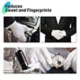 Cotton Gloves for Dry Hands, Paxcoo 20 Pairs Large