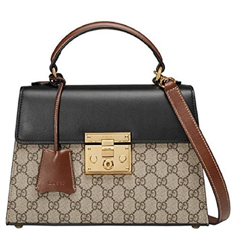 Gucci Women's Padlock GG Supreme PVC Classic Tote Bag