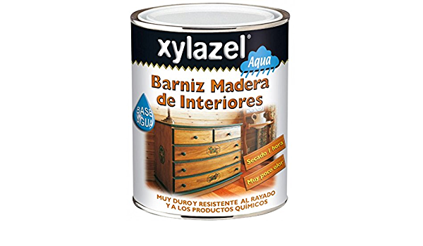 Xylazel - Barniz para madera interior 750ml brillante cerezo ...