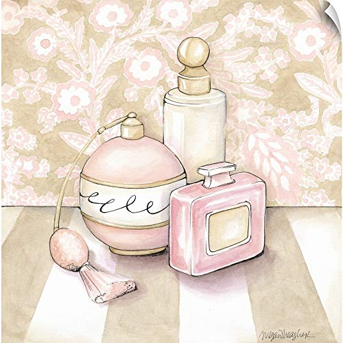 - CANVAS ON DEMAND Posh Powder Room III Wall Peel Art Print, 35